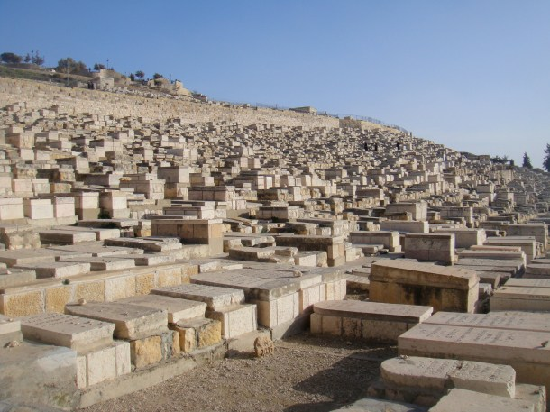mount of olives graves