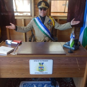 Photo Of The Day: His Excellency, The President Of Molossia