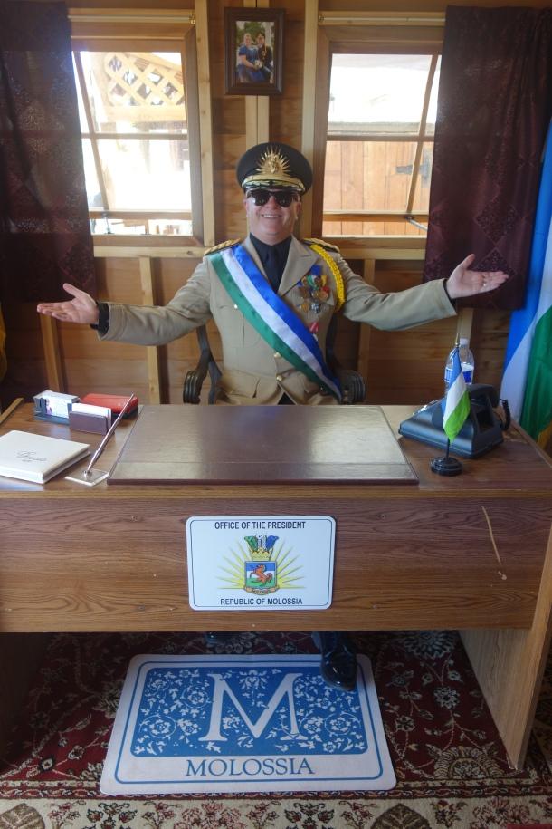 president of molossia