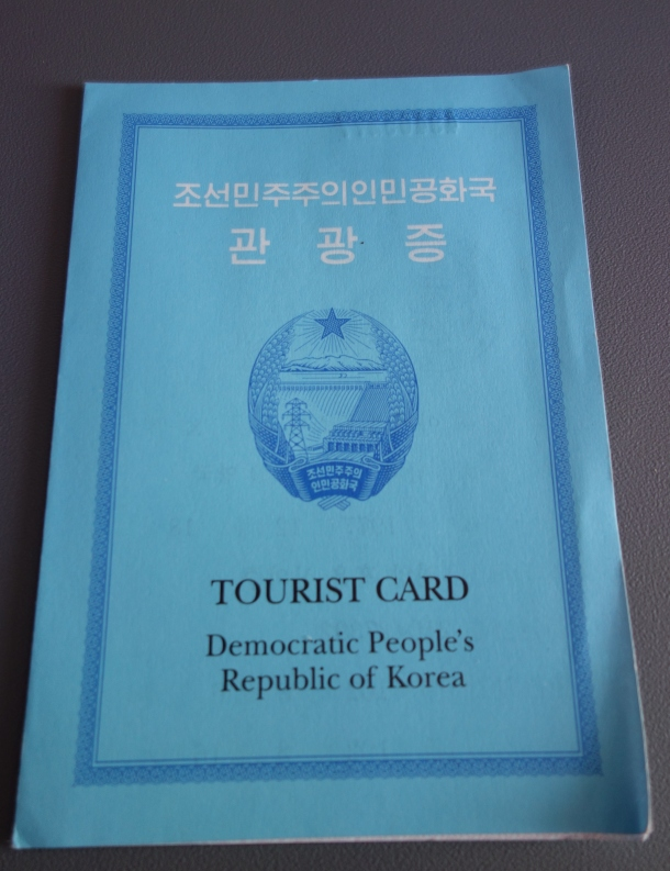tourist card north korea