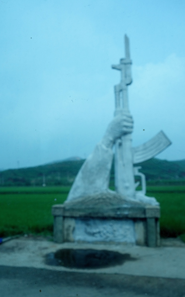 ak-47 monument north korea