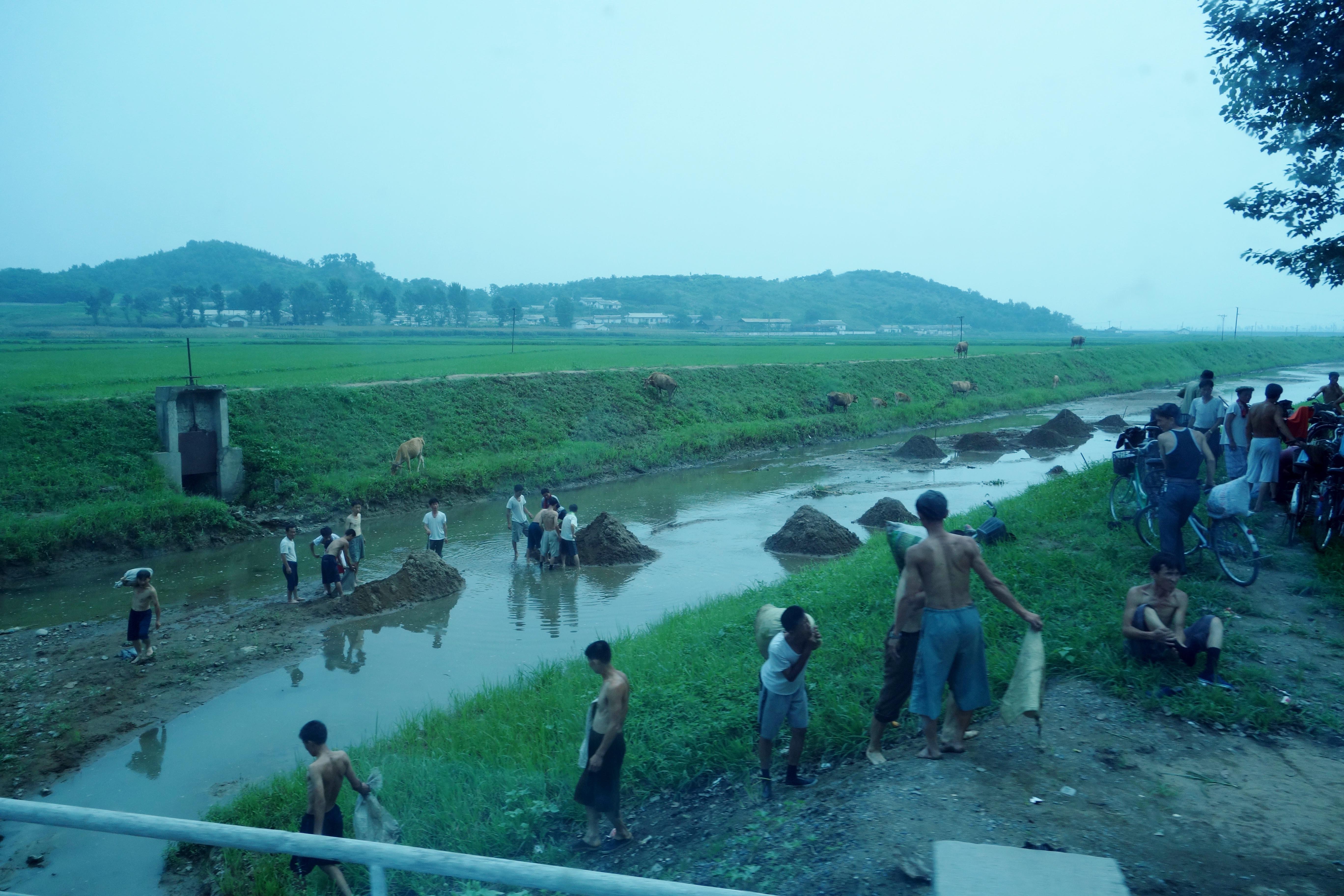 Landscapes Of North Korea The Velvet Rocket