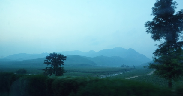 mountains north korea