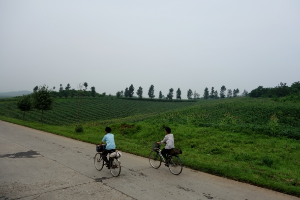 riding-bicycle-north-korea