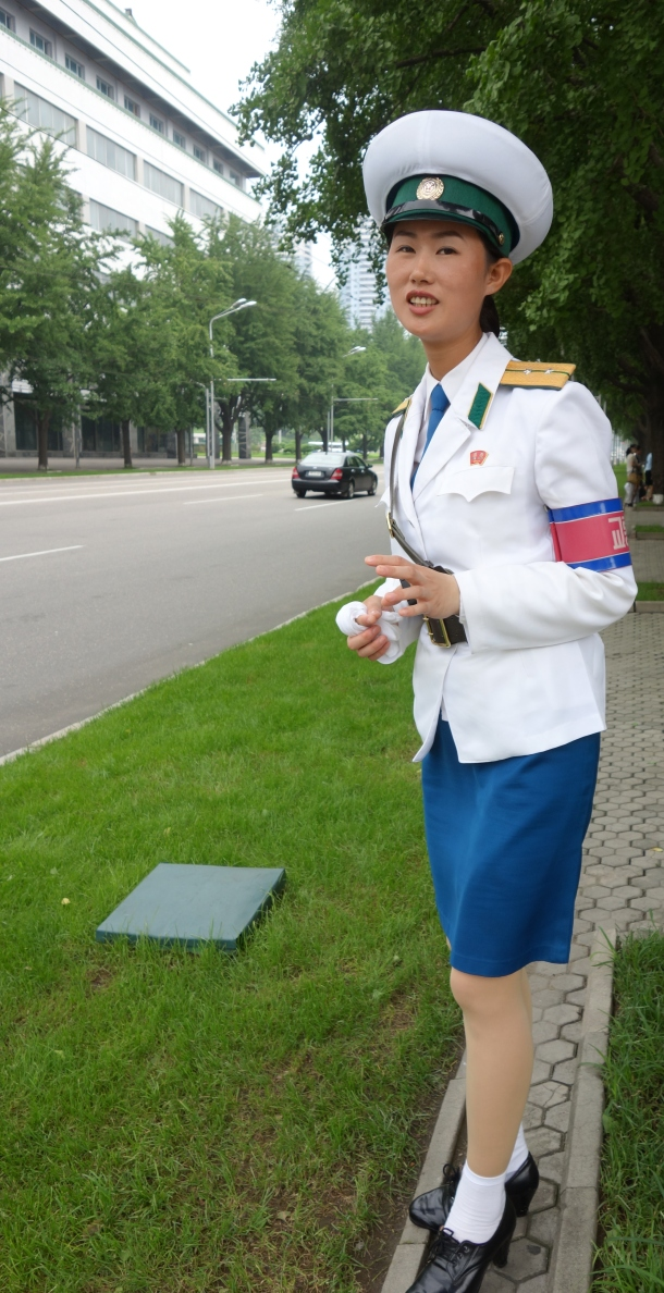 traffic-girl-north-korea