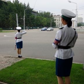 The Traffic Girls Of NorthKorea