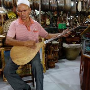 The Blind Dutar Player Of Kashgar