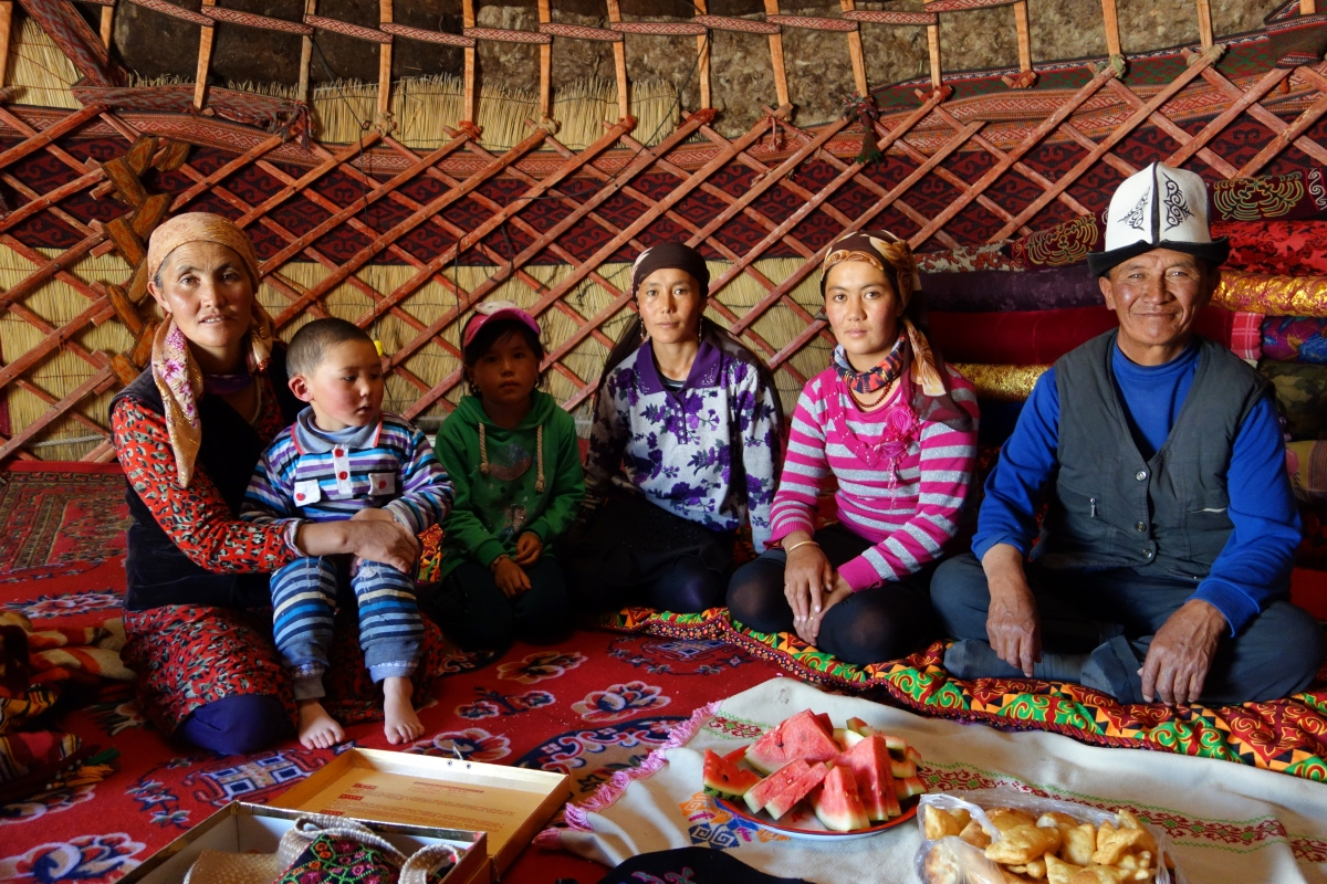 People: A Kyrgyz Village On Karakul Lake