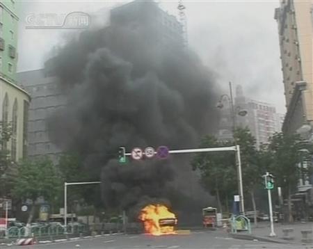 uighur-violence