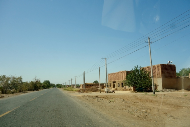 village in xinjiang where recent ethnic violence took place