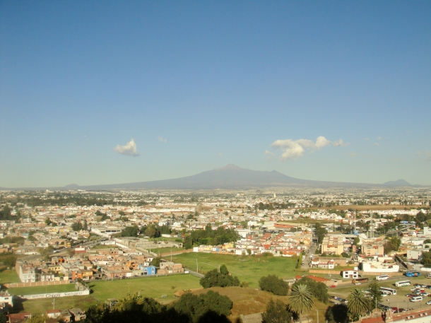 Cholula-overlook