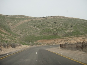 The West Bank Border With Jordan