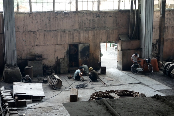 chollima-steel-factory