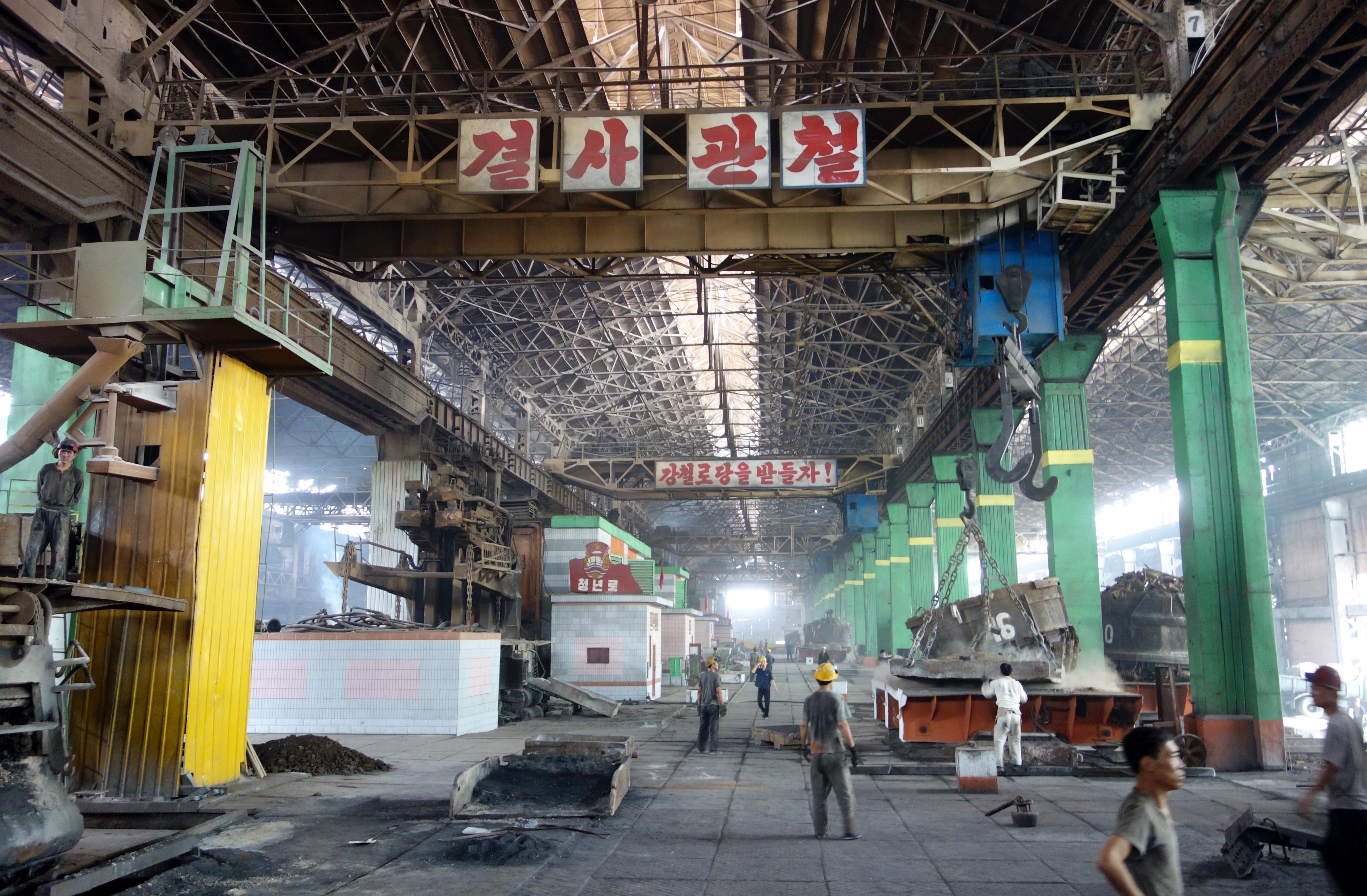 North Korea S Chollima Steel Complex The Velvet Rocket