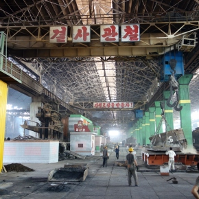 North Korea's Chollima Steel Complex