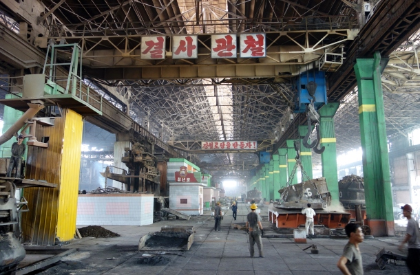 production-floor-chollima-steel-north-korea
