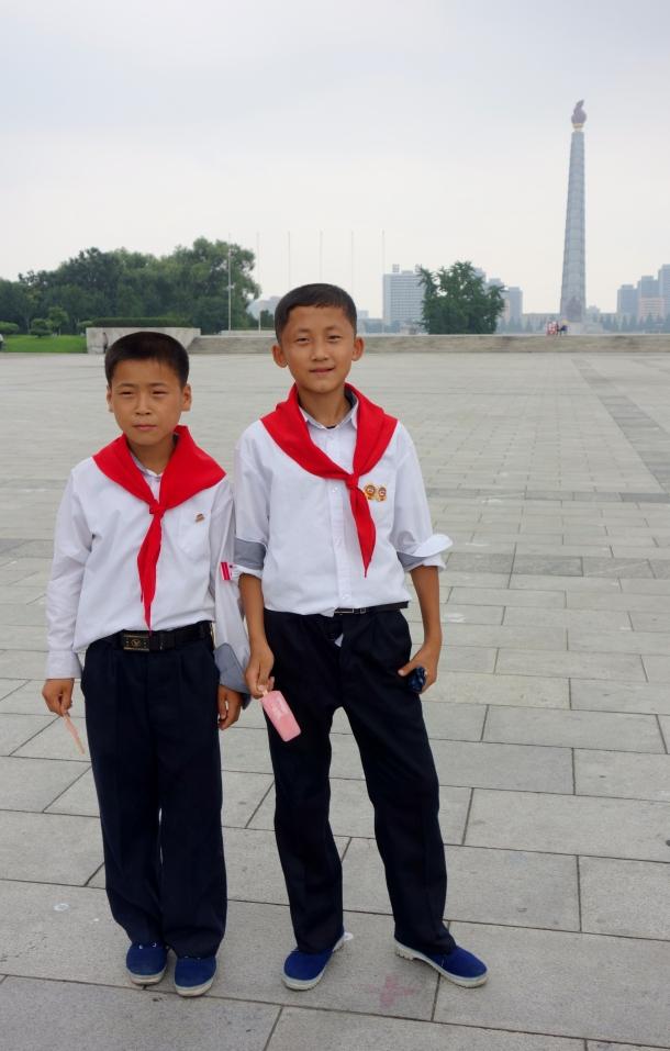 kids-Kim-Il-sung-Square