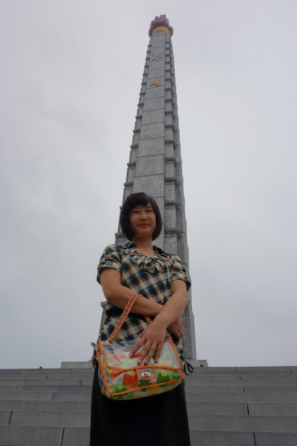 north-korean-guide-kim-at-juche-tower