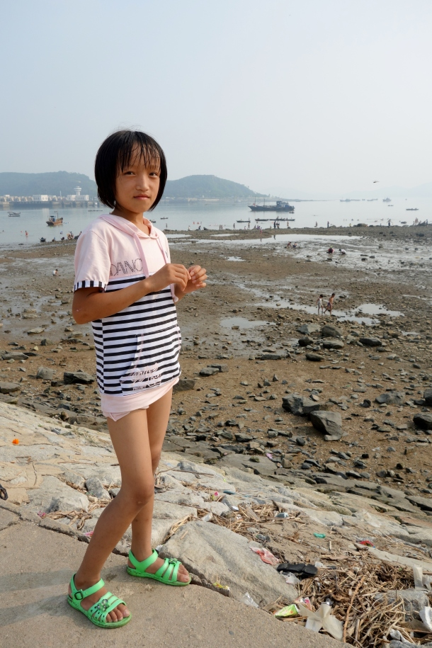 beach-girl-north-korea