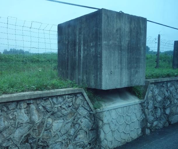 concrete-block-barrier-north-korea