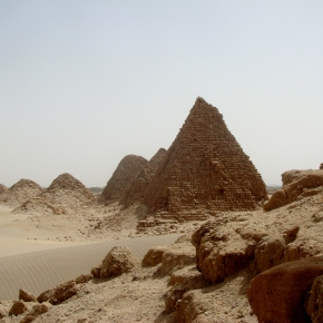The Nuri Pyramids Of Sudan