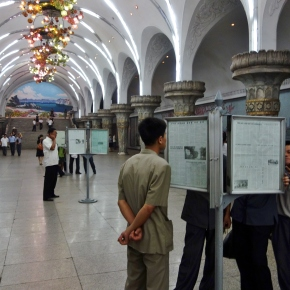 Riding On The Metro: In North Korea