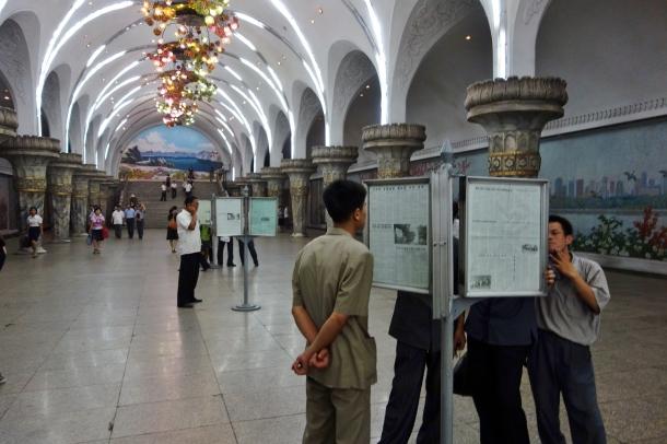 Rodong-Sinmun-newspaper-pyongyang-metro
