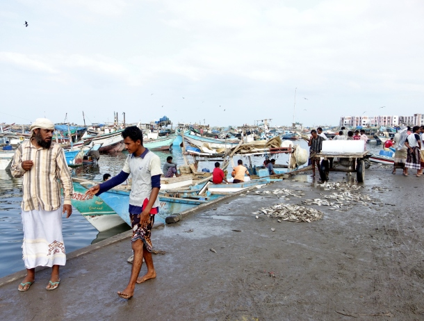 Al-Hudaydah-fish-market-waterfront