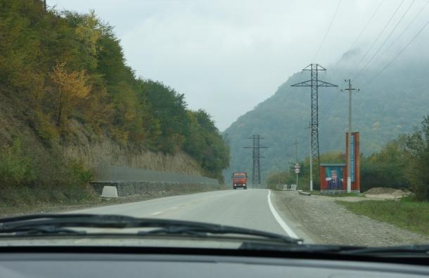 chechnya-ambush-site-on-russian-convoy