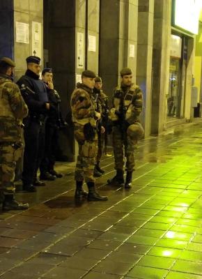 Brussels On Lockdown
