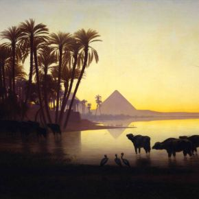 Paintings Of The Day: Along The Nile River