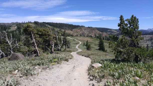 road to four hills mine