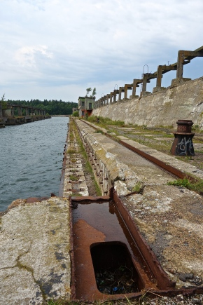 Hara – An Abandoned Soviet Submarine Base In Estonia
