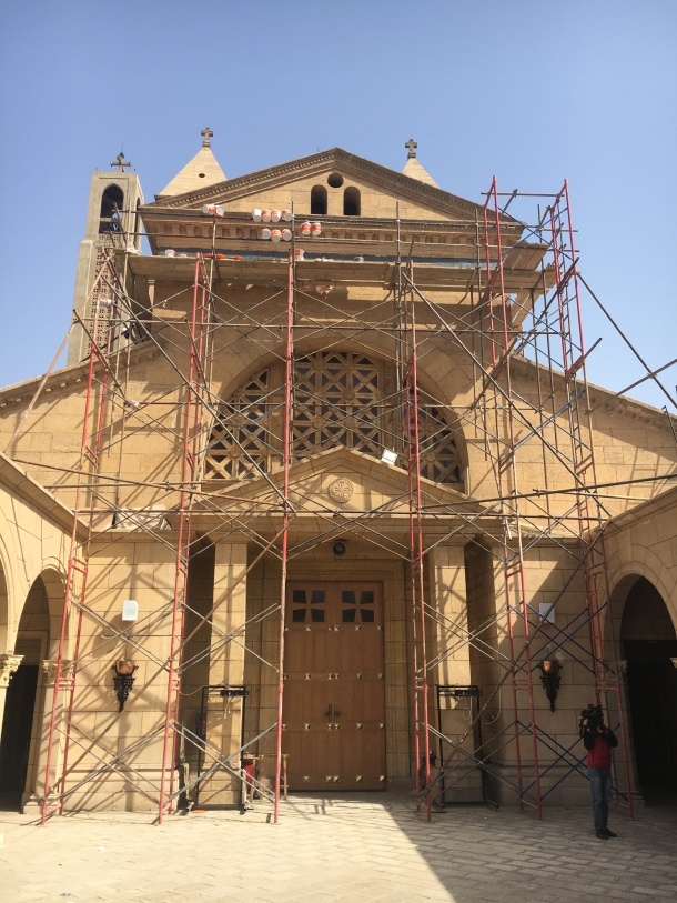 reconstruction-El-Bostroseya-Church-Cairo