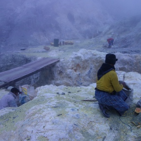 Hell On Earth: Indonesia's Ijen Sulfur Mine